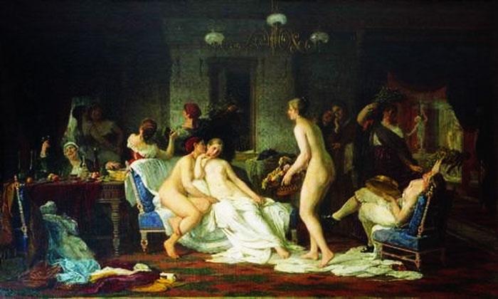 Совместная баня бабы и мужики фото 262-914