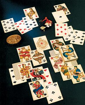 Человека кто не играл бы в карты