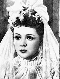 «Свадьба», 1944 г. Невеста