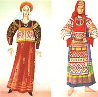 Русский национальный костюм.ppt.  Фото 11.  Служил костюм людям не...